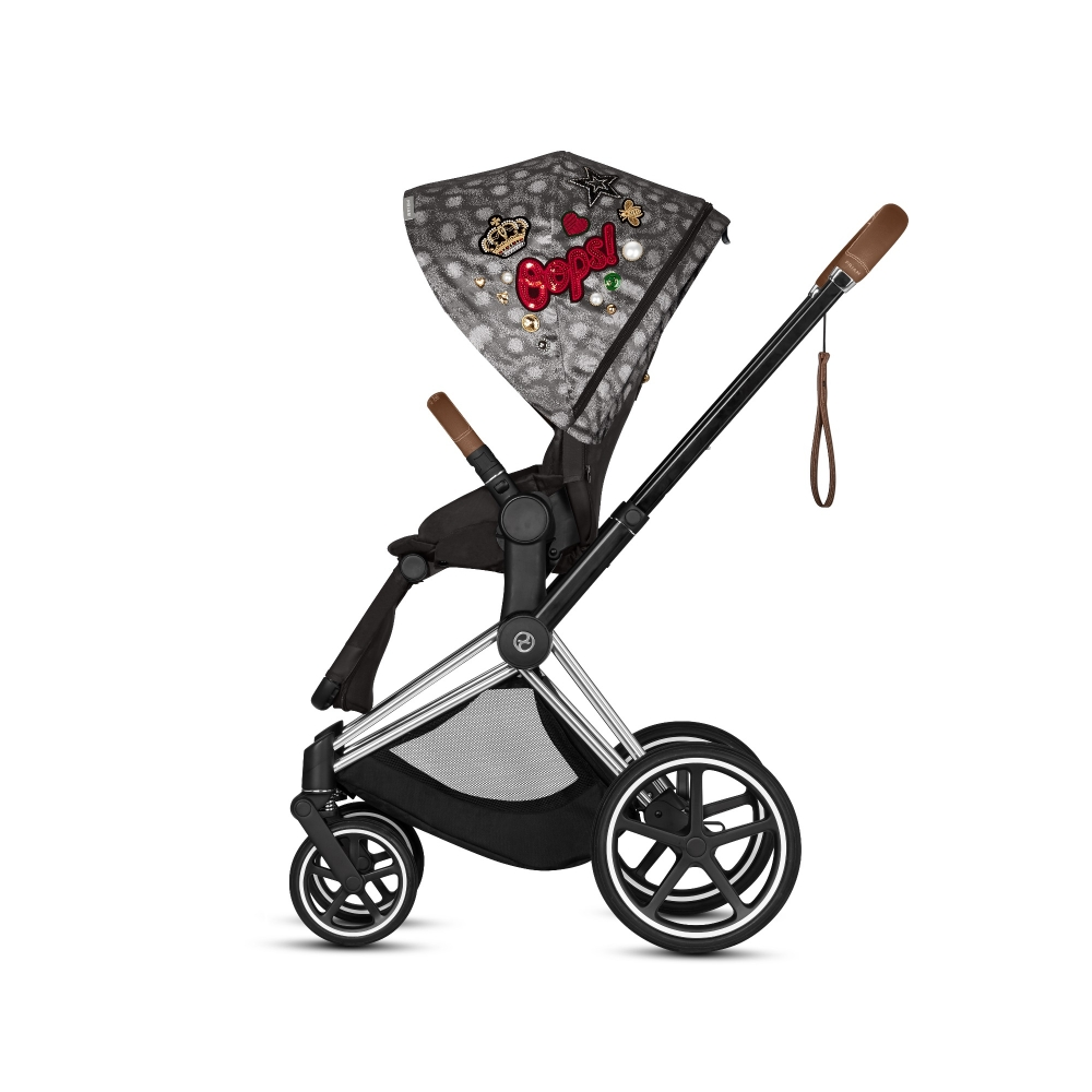 Коляска Cybex Priam III (2в1) Rebellious (chrome/brown)
